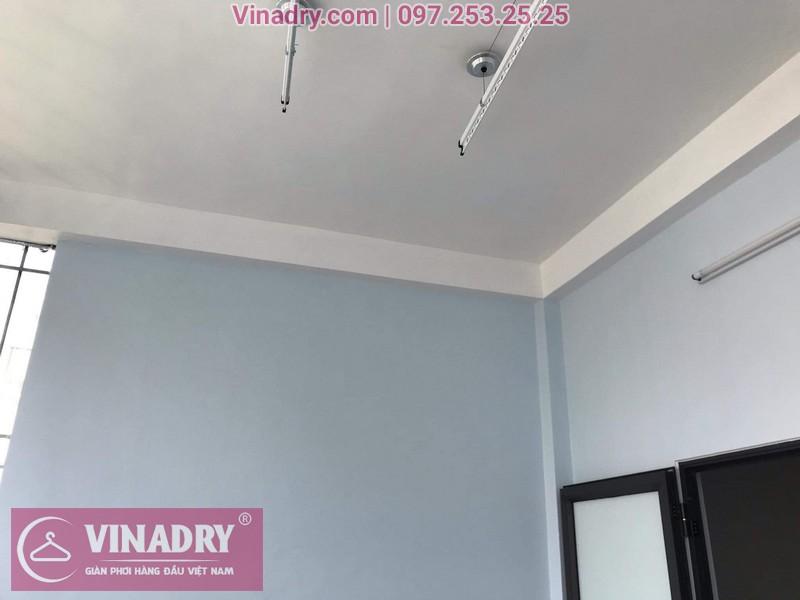 Giàn phơi thông minh lắp tại Long Biên, bộ HP701 cho nhà chị Châm ngõ 229 Nguyễn Văn Linh