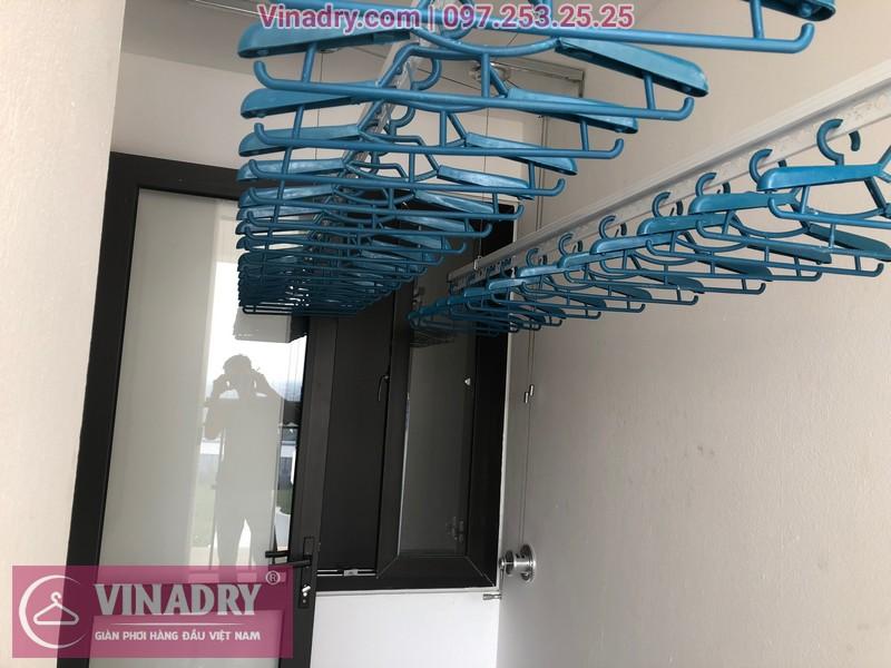 Anh Quy chốt hạ lắp giàn phơi HP701 tại chung cư Ruby City ngay chiều ngày 28/9