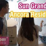 Lắp giàn phơi thông minh chung cư Sun Grand City Ancora Residence, nhà chị An, Lương Yên, Hai Bà Trưng