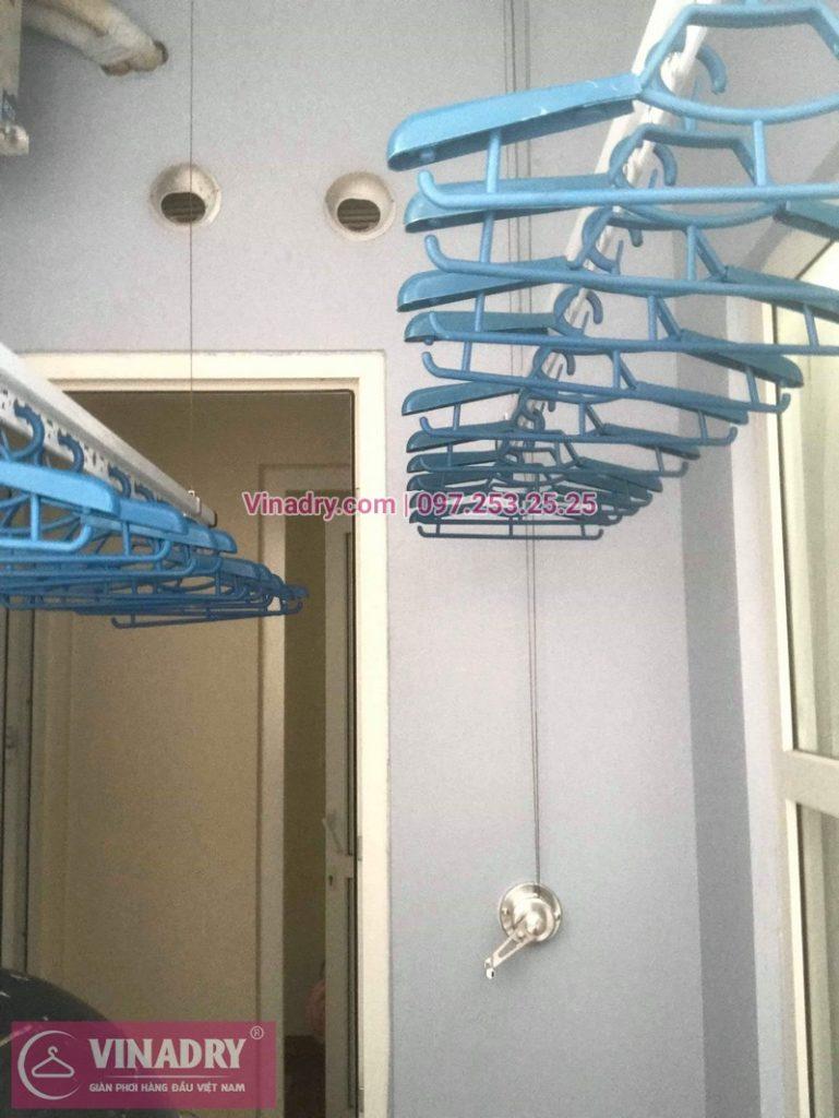 Lắp giàn phơi thông minh tại Hà Đông, chung cư FLC Star Tower, 418 Quang Trung, nhà anh Thi