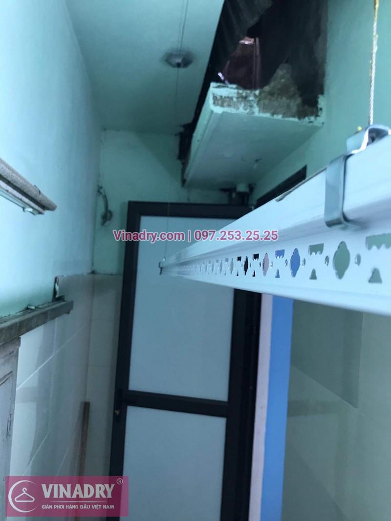 Lắp giàn phơi thông minh Hoàng Hoa Thám, nhà cô Thơ, bộ KS950