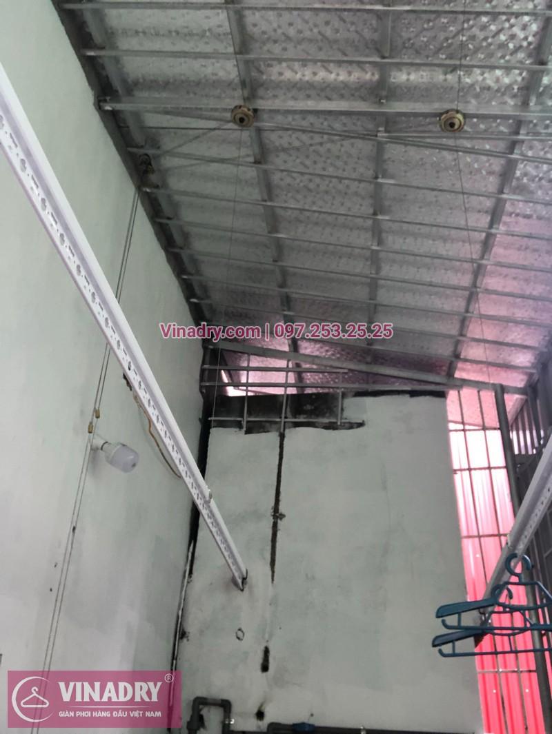 Lắp giàn phơi thông minh tại Hưng Yên tại nhà anh Bảo, số 84, đường Đỗ Sỹ Họa, Ân Thi