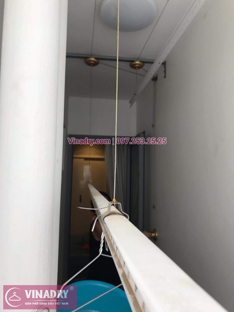 Lắp giàn phơi thông minh tại Park Hill, số nhà 1709 Park 8, nhà cô Nhâm