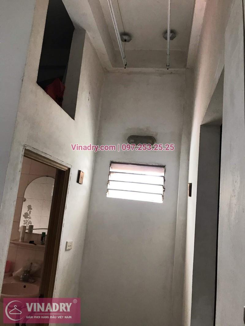 Lắp giàn phơi thông minh tại Vĩnh Tuy, Hai Bà Trưng, chị Son chọn mẫu KS950