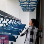 Lắp 2 bộ giàn phơi thông minh tại Từ Liêm, nhà chị Hà, chung cư Green Star Phạm Văn Đồng
