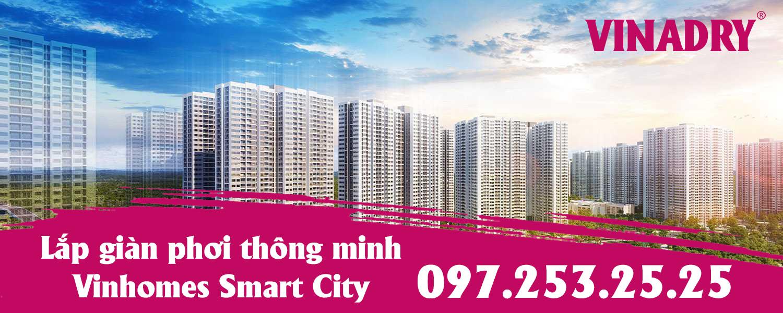 Lắp giàn phơi thông minh Vinhomes Smart City