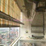 Sửa giàn phơi quần áo HP368 tại chung cư 282 Lĩnh Nam, Hoàng Mai, nhà anh Ân