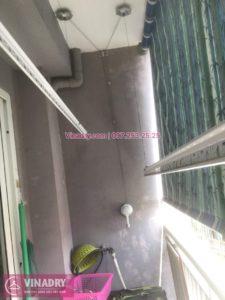 Sửa giàn phơi Long Biên, thay bộ tời giá rẻ chung cư Z133, Bộ Quốc Phòng, nhà anh Cừ
