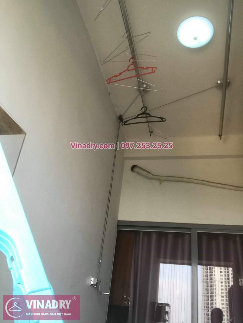 Thay linh kiện giàn phơi giá rẻ tại Cầu Giấy, căn 1003 Star Tower Dương Đình Nghệ, nhà chị Yên
