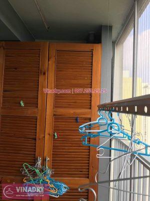 Sửa giàn phơi thông minh tại Hưng Yên, thay dây cáp KĐT Ecopark cho anh Văn