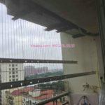 Sửa giàn phơi thông minh quận Long Biên, nhà chú La, căn hộ 1012 khu đô thị Việt Hưng, Hà Nội