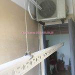 Sửa giàn phơi quận Hoàng Mai, thay dây cáp giá rẻ cho nhà chị Ly tại căn 2109, CT36B Định Công