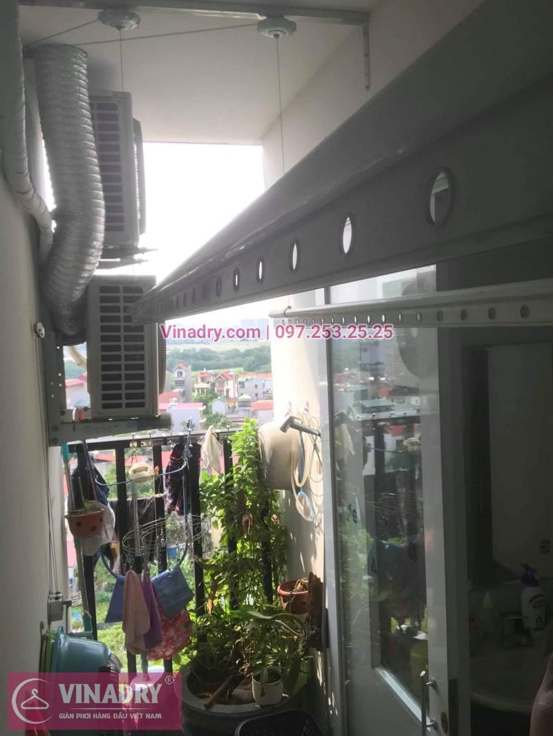 Thay dây cáp giàn phơi tại Long Biên, chung cư Himlam, Thạch Bàn 2 cho nhà anh Tư