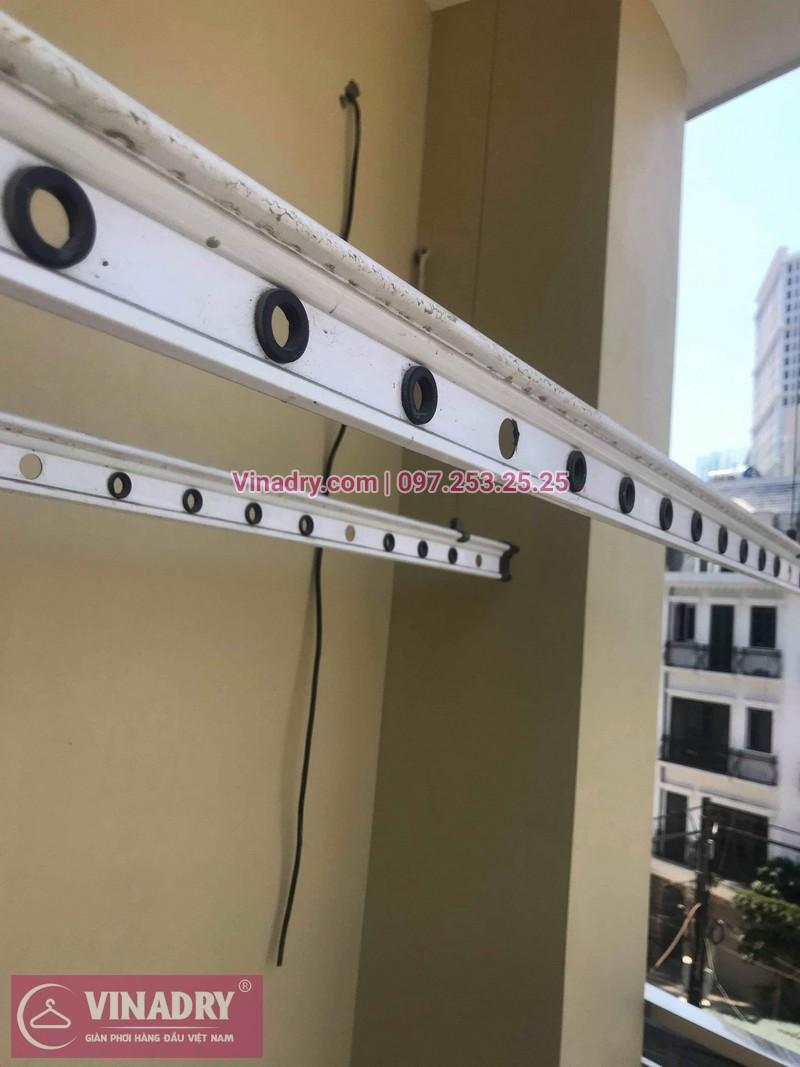 Vinadry thay bộ tời giàn phơi HP999B ở Nam Từ Liêm, số 7 ngõ 180/11, Đình Thôn nhà chị Ba 01