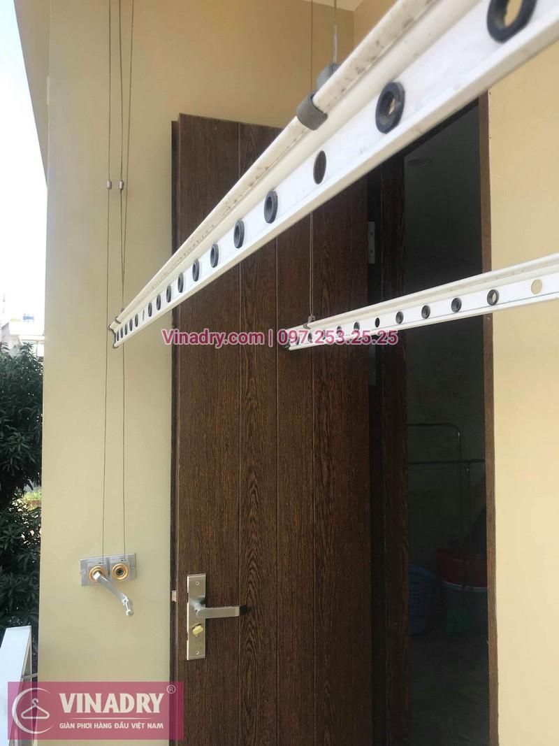 Vinadry thay bộ tời giàn phơi HP999B ở Nam Từ Liêm cho nhà chị Ba
