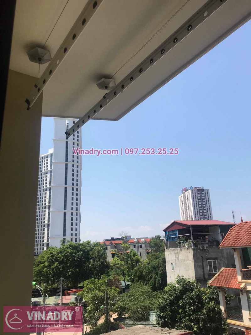 Vinadry thay bộ tời giàn phơi HP999B ở Nam Từ Liêm, số 7 ngõ 180/11, Đình Thôn nhà chị Ba 07