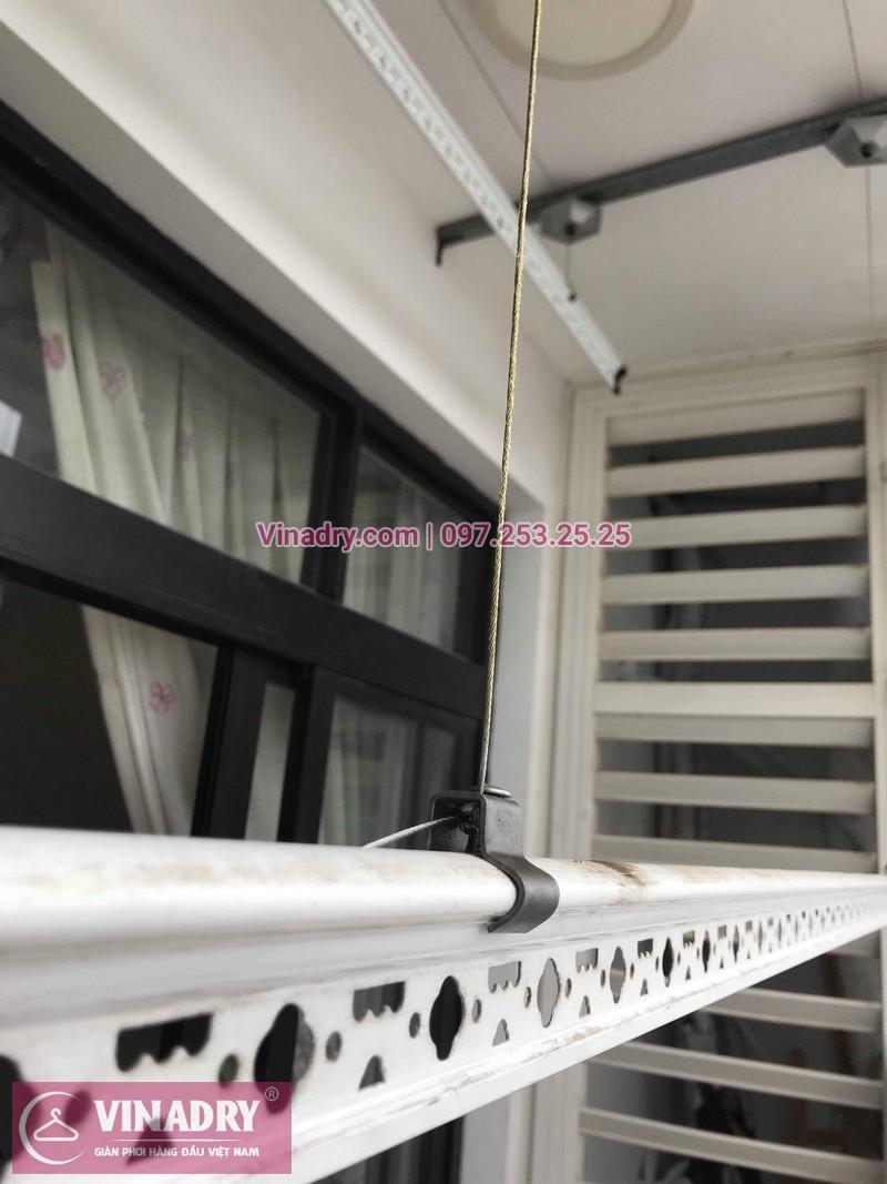 Thay bộ tời giàn phơi HP999B tại Royal City, căn 2122 nhà chị Thảo