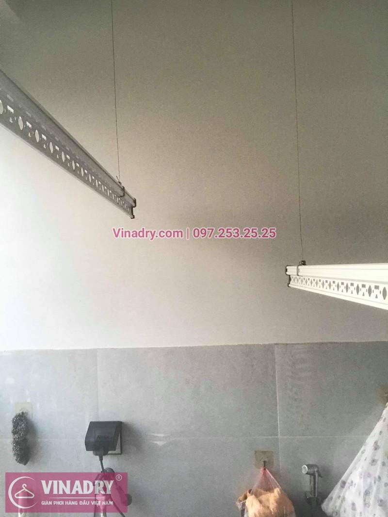Vinadry thay dây cáp giàn phơi Q. Hoàng Mai, sửa chữa giàn phơi tại chung cư Sunshine Palace nhà cô Thủy 06