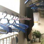 Thay dây cáp, thay bộ tời giàn phơi tại Thanh Xuân, nhà chú Sự, căn 2105, Hapulico Vũ Trọng Phụng
