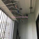 Thay dây cáp giàn phơi tại chung cư CT1 Ngô Thì Nhậm, Hà Đông, nhà chú Lâm