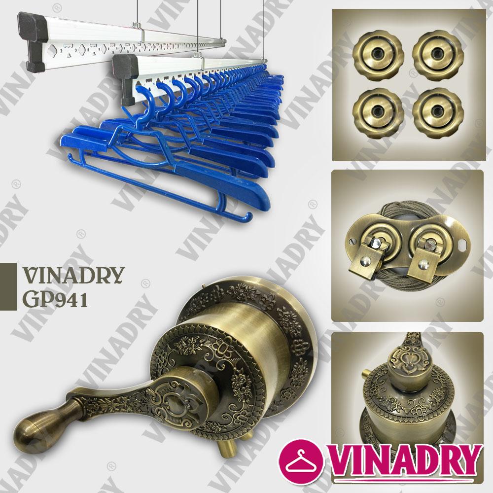 Mẫu giàn phơi GP941 lắp đặt tại Hưng Yên - lắp giàn phơi thông minh tại Hưng Yên