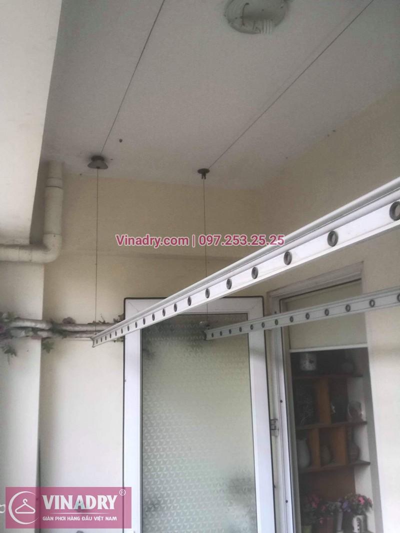 Thay dây cáp, sửa giàn phơi quần áo tại 16 Nguyễn Thái Học, Hà Đông cho nhà chị Lý 03