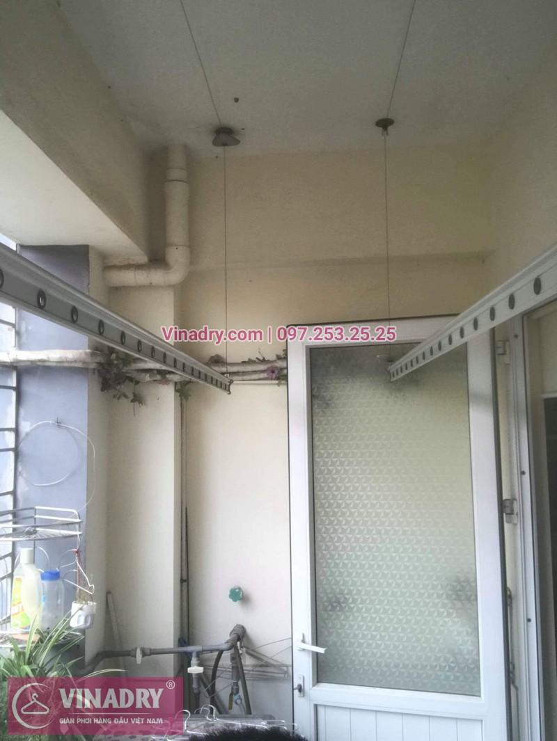 Thay dây cáp, sửa giàn phơi quần áo tại 16 Nguyễn Thái Học, Hà Đông cho nhà chị Lý 05