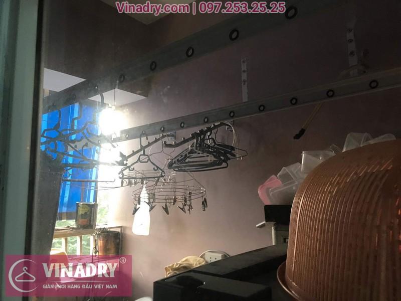 Vinadry thay dây cáp giàn phơi thông minh tại KĐT Việt Hưng cho nhà bác Loan 09