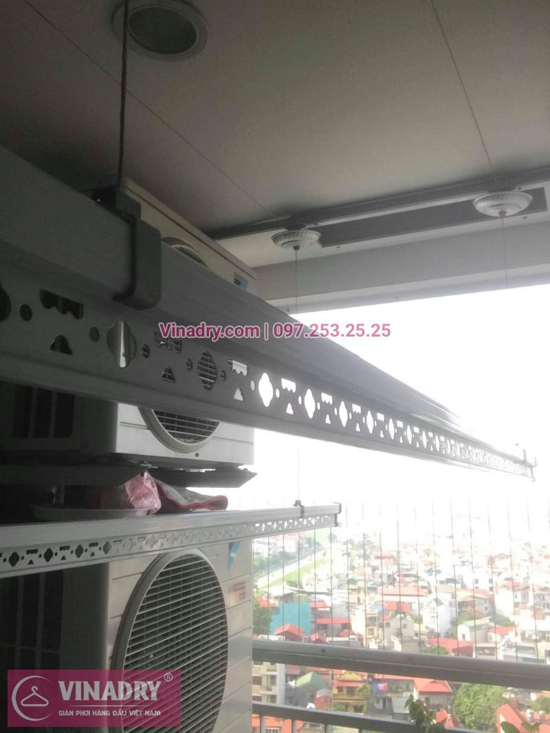 Vinadry đã thay dây cáp trong bộ tời tại Long Biên cho nhà cô Nha 05