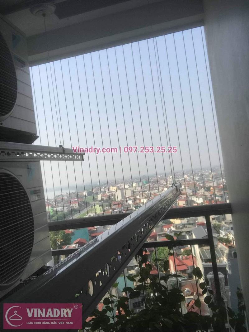 Vinadry đã thay dây cáp trong bộ tời tại Long Biên cho nhà cô Nha 09