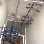 Vinadry thay dây cáp giàn phơi giá rẻ tại chung cư sông Nhuệ cho nhà anh Đại
