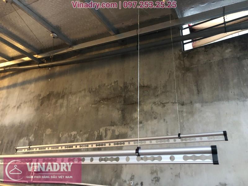 Vinadry lắp giàn phơi thông minh chống rối GP971 tại Thanh Oai, Hà Nội cho nhà chị Phí 04