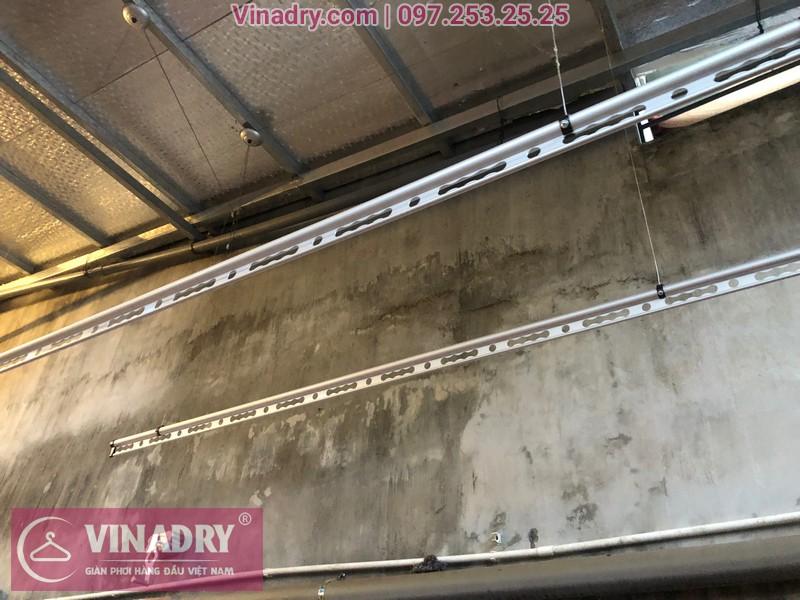 Vinadry lắp giàn phơi thông minh chống rối GP971 tại Thanh Oai, Hà Nội cho nhà chị Phí 05