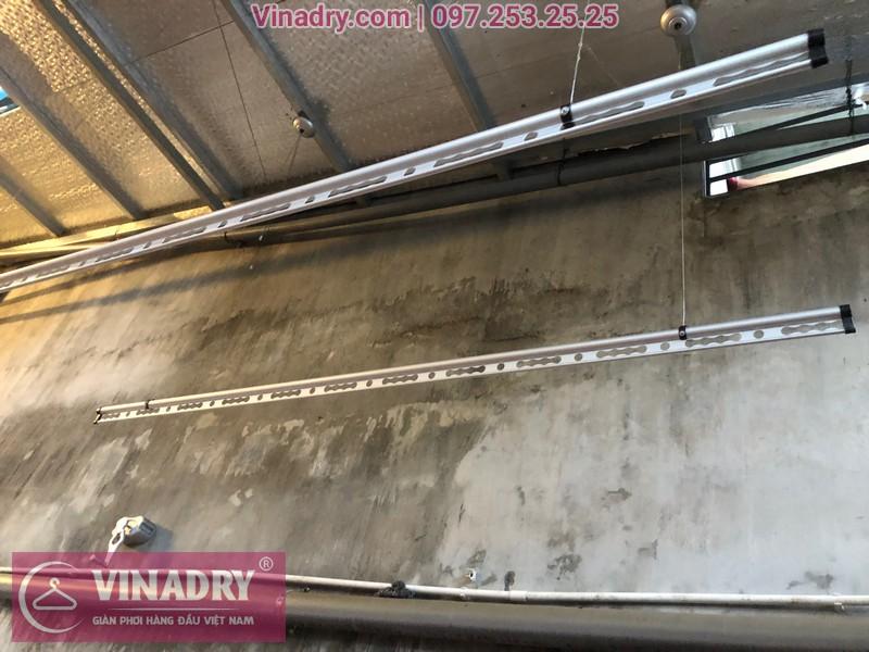 Vinadry lắp giàn phơi thông minh chống rối GP971 tại Thanh Oai, Hà Nội cho nhà chị Phí 06