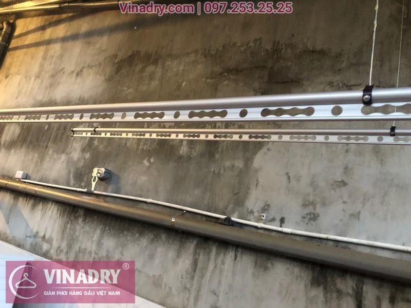Vinadry lắp giàn phơi thông minh chống rối GP971 tại Thanh Oai, Hà Nội cho nhà chị Phí 07