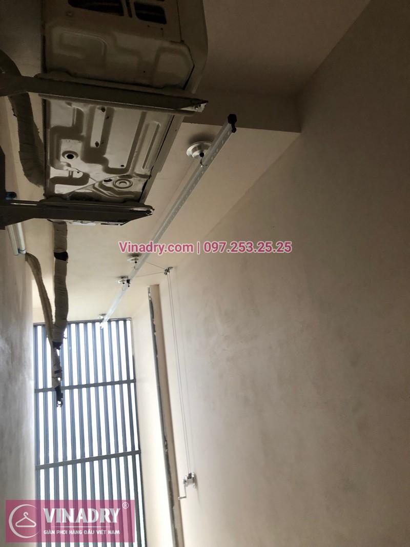 Vinadry lắp giàn phơi HP701 tại Từ Liêm, chung cư HPC LandMark Văn Khê, nhà anh Tố