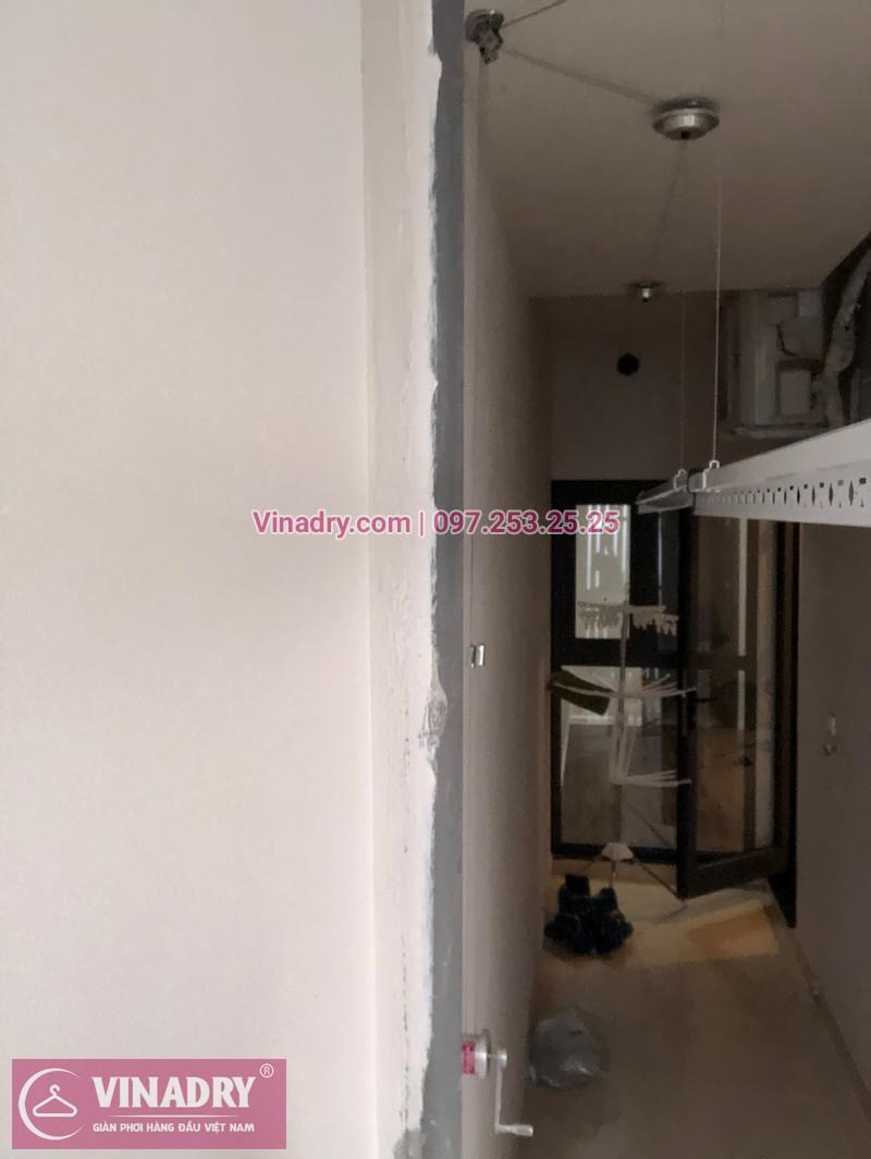 Vinadry lắp giàn phơi HP701 tại Từ Liêm, chung cư HPC LandMark Văn Khê, nhà anh Tố - 06