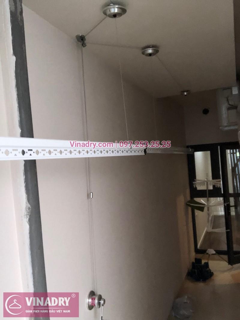 Vinadry lắp giàn phơi HP701 tại Từ Liêm, chung cư HPC LandMark Văn Khê, nhà anh Tố - 07