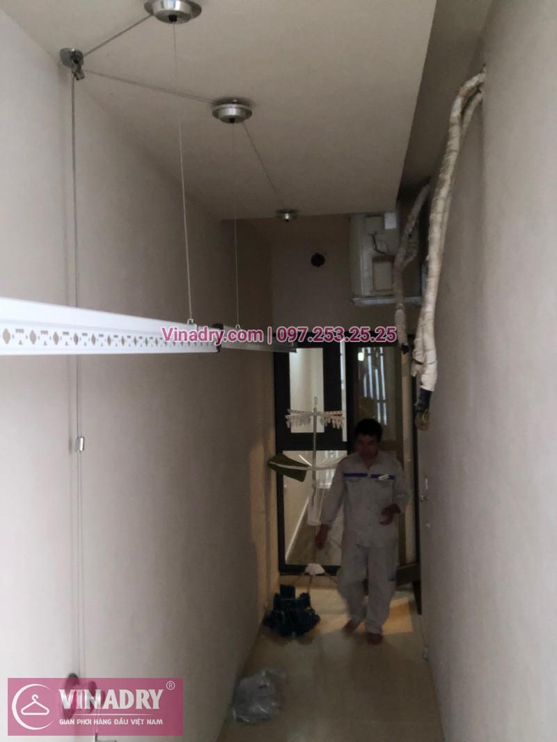 Vinadry lắp giàn phơi HP701 tại Từ Liêm, chung cư HPC LandMark Văn Khê, nhà anh Tố - 08