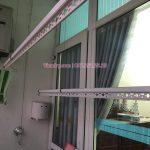Lắp giàn phơi Hòa Phát giá rẻ KS990 tại An Đào, Gia Lâm nhà anh Bộ