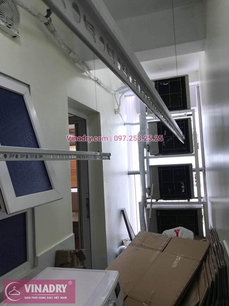 Vinadry lắp giàn phơi KS950 tại Golden Palace Lê Văn Lương cho nhà anh Du - 06