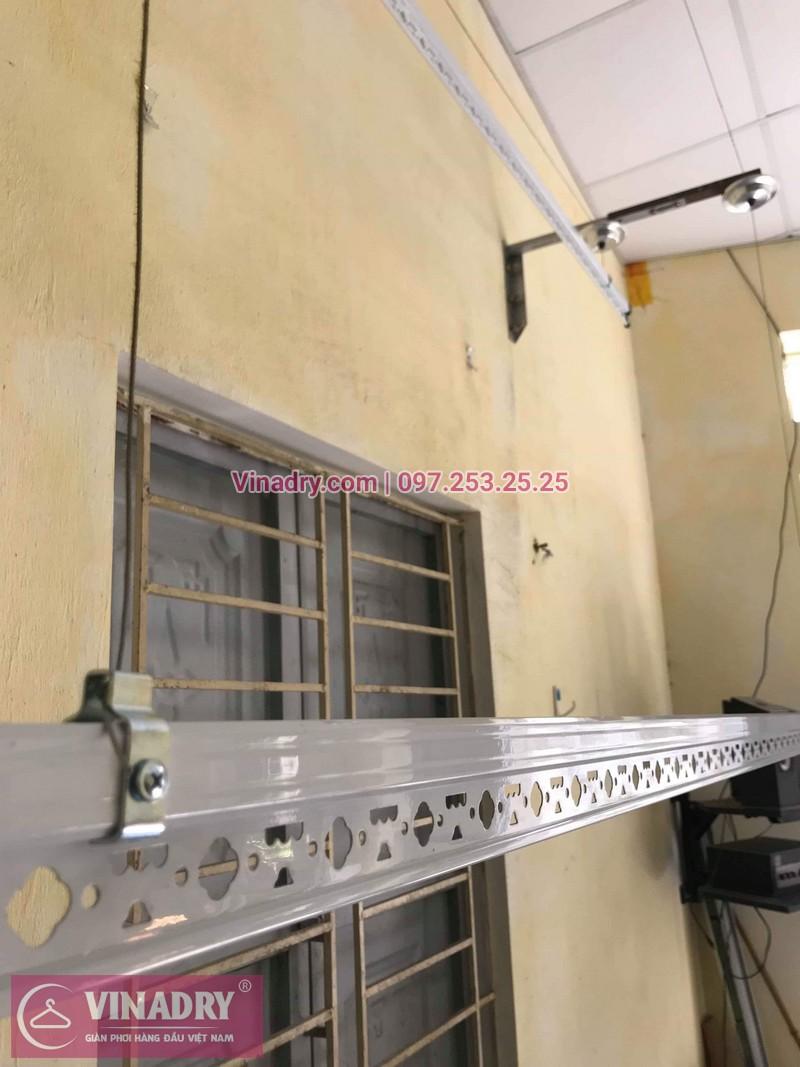 Lắp giàn phơi thông minh giá rẻ tại Gia Lâm, bộ HP701 cho nhà chị Như - 01