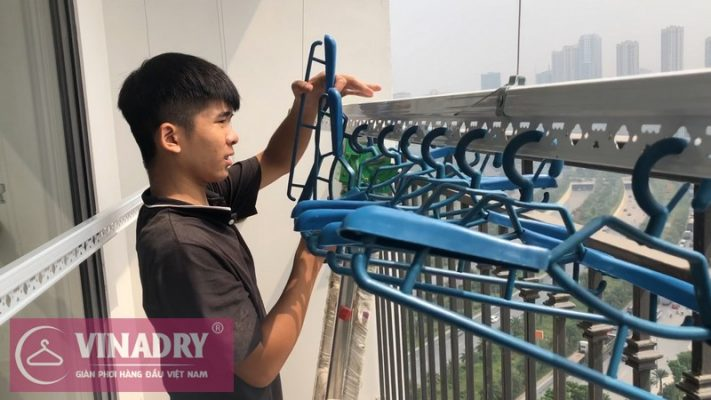 [Vinadry] chuyên lắp giàn phơi thông minh tại khu đô thị Vinhome Grand Park