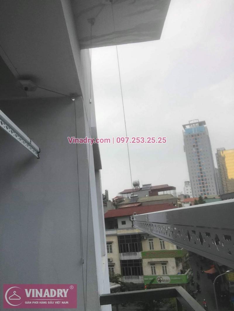 Vinadry lắp giàn phơi thông minh Hòa Phát tại Ba Đìnhcho nhà chị Nhạn - Lắp đặt miễn phí - Bảo hành tận nơi và Bảo dưỡng định kỳ - 05