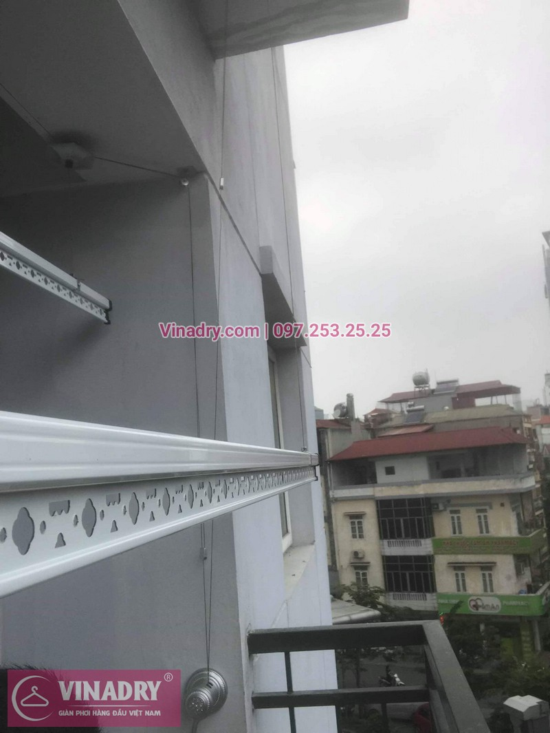 Vinadry lắp giàn phơi thông minh Hòa Phát tại Ba Đìnhcho nhà chị Nhạn - Lắp đặt miễn phí - Bảo hành tận nơi và Bảo dưỡng định kỳ - 06