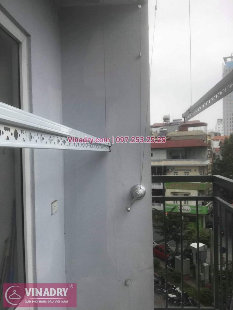 Vinadry lắp giàn phơi thông minh Hòa Phát tại Ba Đìnhcho nhà chị Nhạn - Lắp đặt miễn phí - Bảo hành tận nơi và Bảo dưỡng định kỳ - 07