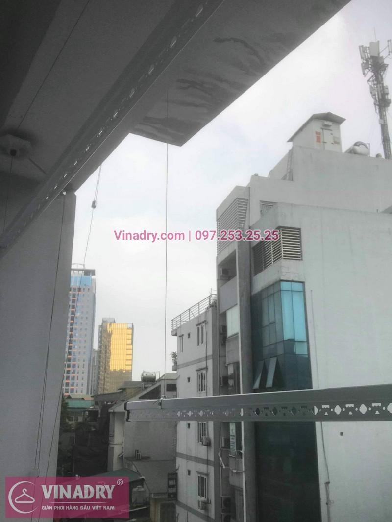Vinadry lắp giàn phơi thông minh Hòa Phát tại Ba Đìnhcho nhà chị Nhạn - Lắp đặt miễn phí - Bảo hành tận nơi và Bảo dưỡng định kỳ - 09