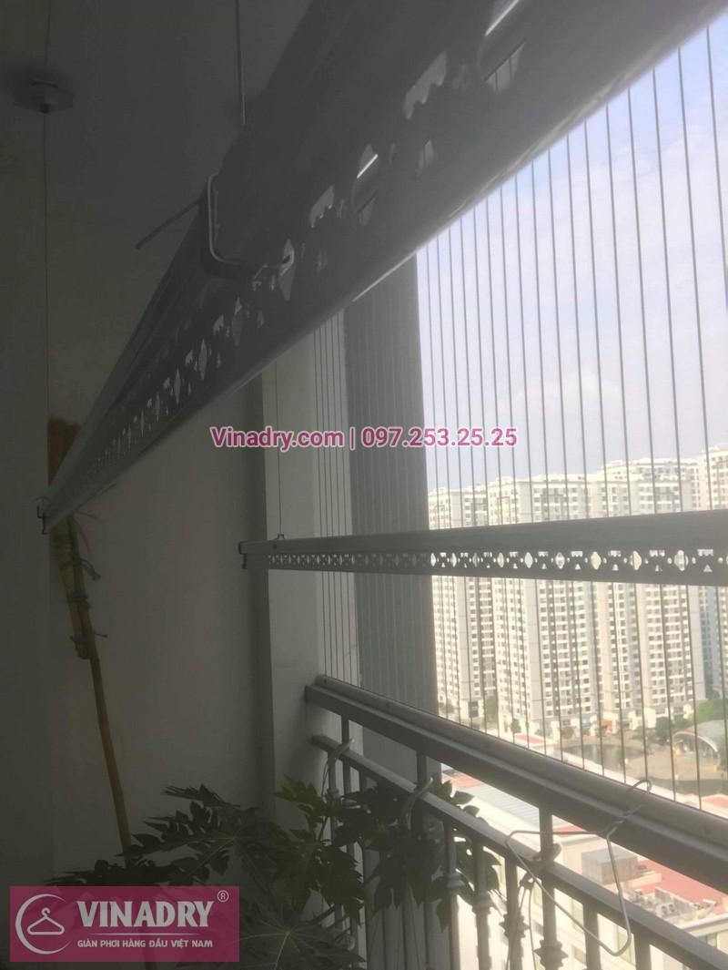 Nhà cô Cầm lắp giàn phơi Hòa Phát giá rẻ KS950 tại Times City - 01