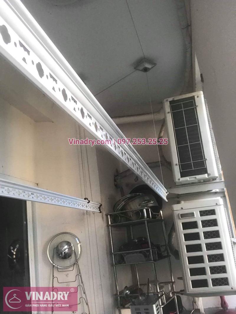 Sửa giàn phơi quần áo tại Gia Lâm, khu đô thị Đăng Xá cho nhà chú Thụy 04