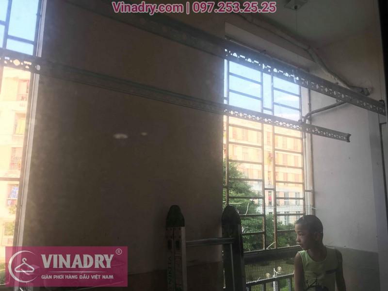 Sửa giàn phơi quần áo tại Gia Lâm, khu đô thị Đăng Xá cho nhà chú Thụy 06